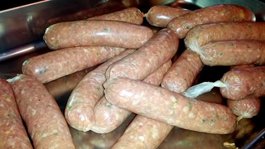 Fresh Stuffed Brats